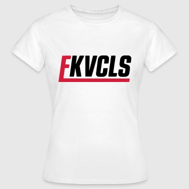 FK VOCALS - SIMPLE - VOKALE - Frauen T-Shirt