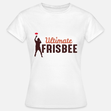 Ultimate ULTIMATE FRISBEE - T-shirt Femme