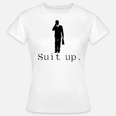 Sleep Suit Suit up suit suit carrier banker - Women's T-Shirt
