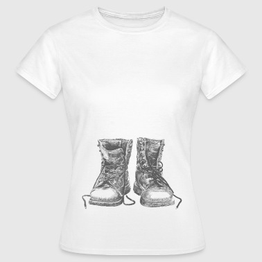 Boot Boots - Women's T-Shirt