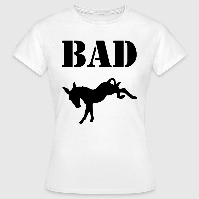 Bad Ass - Dame-T-shirt