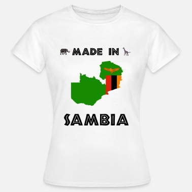 Countries AFRICA SAMBIA AFRICA AFRICAN CONTINENT GIFT - Women's T-Shirt