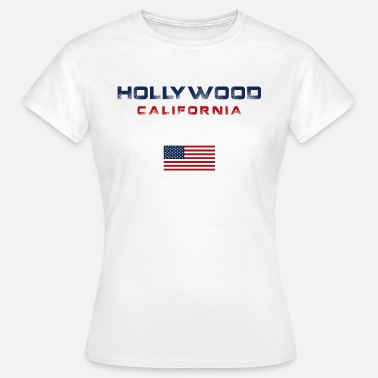 Hollywood California Hollywood California graphic - Women's T-Shirt
