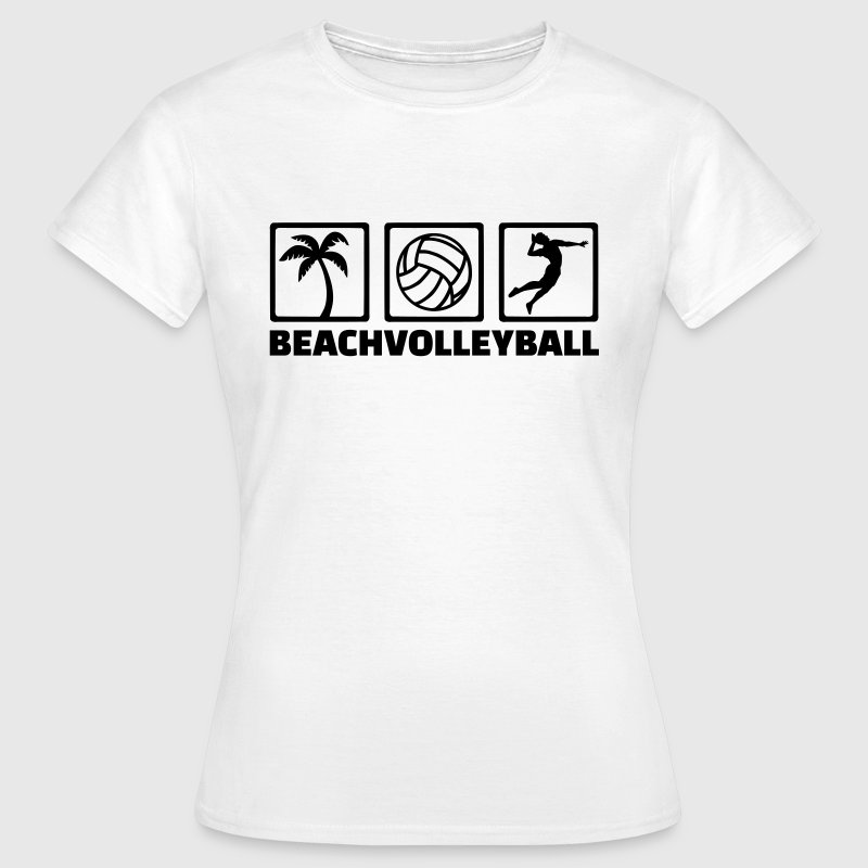 Beachvolleyball - Frauen T-Shirt