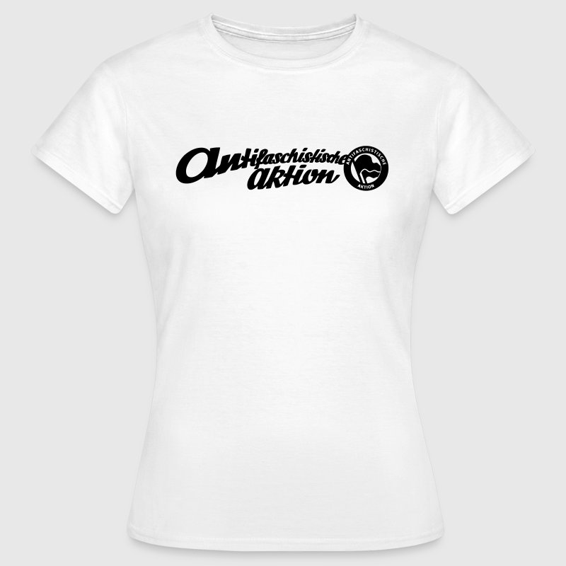 Antifaschistische Aktion - historisches Logo - Frauen T-Shirt
