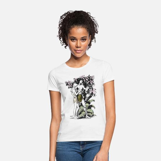 Tarzan T-Shirts - Tarzan and Jane - Women's T-Shirt white