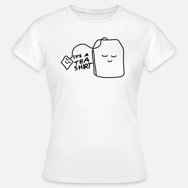 Tea Tea shirt with smiling teabag - Women's T-Shirt