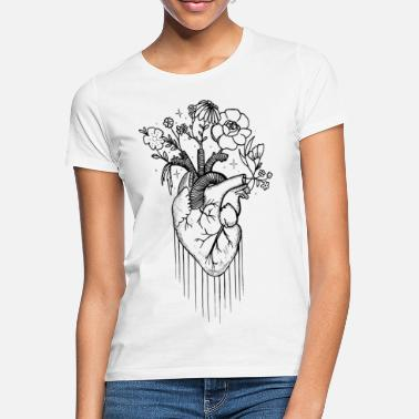 Natur Blooming Love - Frauen T-Shirt