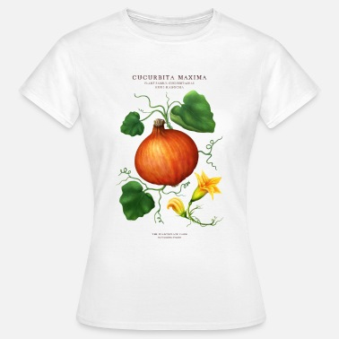 Botanisch THE PLANTSPLATE FARM - CUCURBITA MAXIMA - Frauen T-Shirt