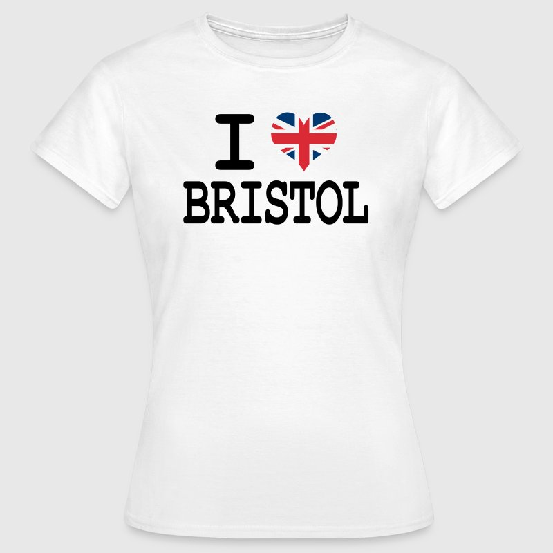 i love Bristol - Women's T-Shirt