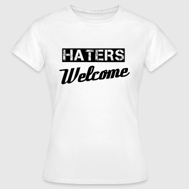 Haters - Camiseta mujer