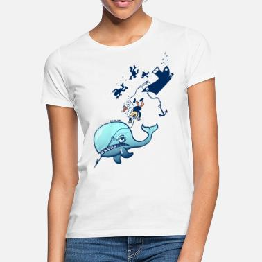 Stop Whaling Whales are Furious - Women's T-Shirt