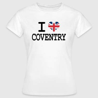 i love Coventry - Women's T-Shirt