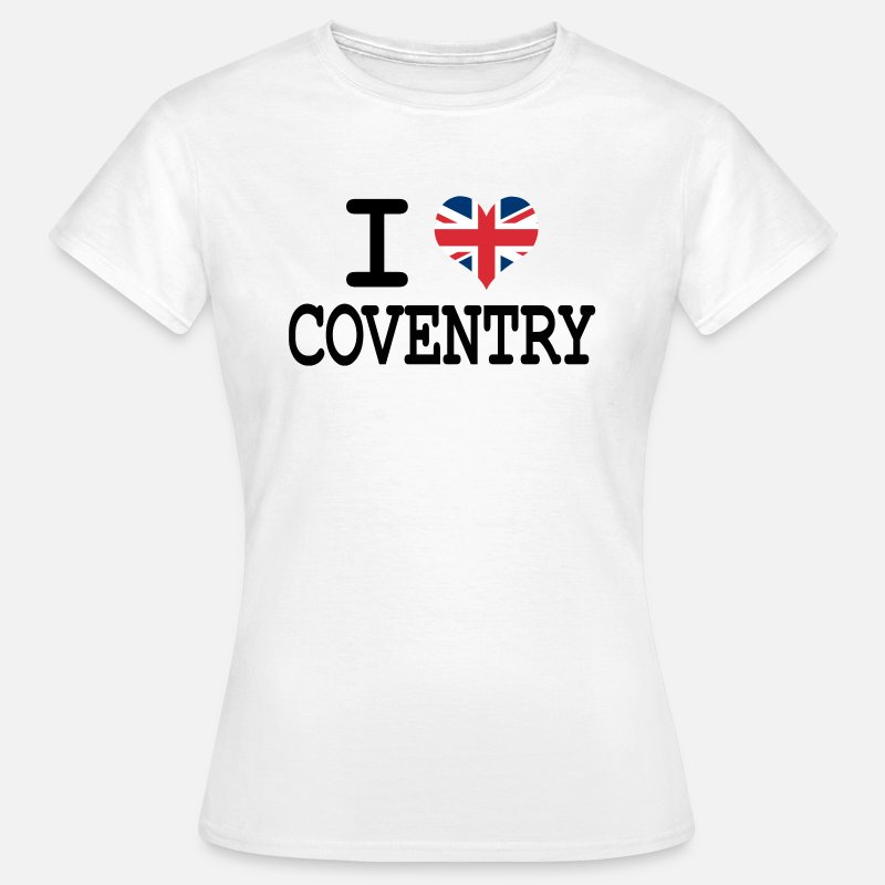 England T-Shirts - i love Coventry - Women's T-Shirt white