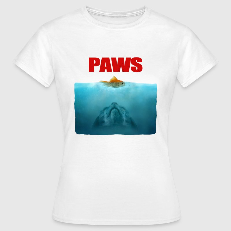 Cat paws - Dame-T-shirt