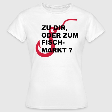 Hamburg Flirt-Shirt  - Frauen T-Shirt