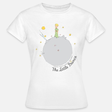 Little Prince The Little Prince Asteroid B612 Illustration - Women's T-Shirt
