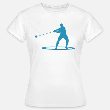 Atletismo Hammer throw - Women's T-Shirt