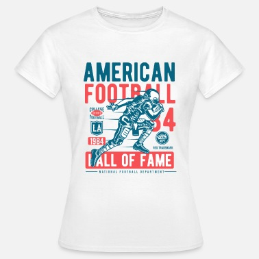 American College American Football Ball Sports College Touchdown USA - Women's T-Shirt