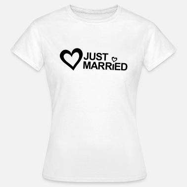 Bureau D'état Civil MARRIAGE, MARRIED, MARRIED, honeymoons, LOVE - T-shirt Femme