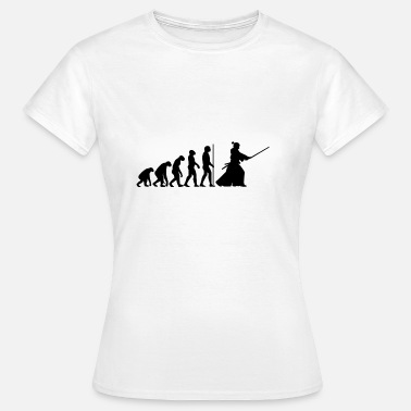 Samoerai EVOLUTION Swordplay - Vrouwen T-shirt