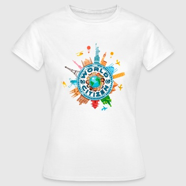 Citizen of the World, World Citizen - Women's T-Shirt