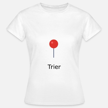 Trier Trier pin - Women's T-Shirt