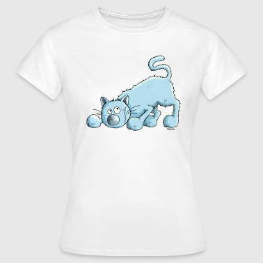 Blue British Shorthair Cat - Women's T-Shirt