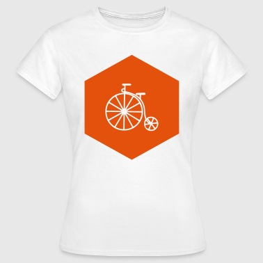 Penny HIPSTER PENNY FARTHING (v) - Dame-T-shirt