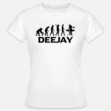 Djing evolution DEEJAY DJ Djing bt - T-shirt dam