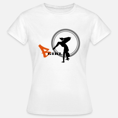 Bgirl bgirl freeze - Frauen T-Shirt