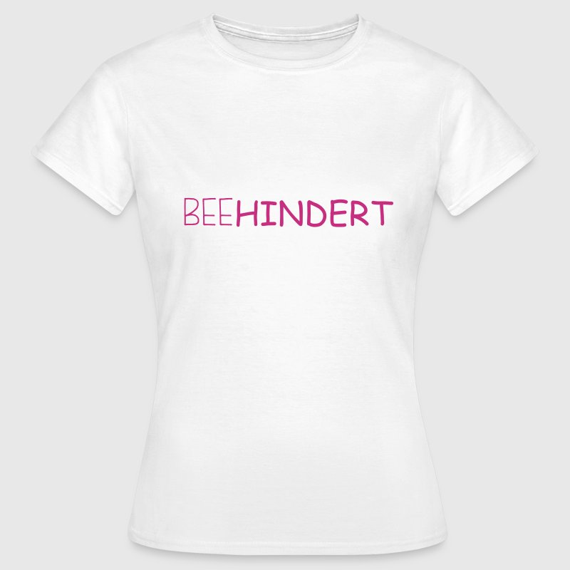 Bee hindert - Frauen T-Shirt