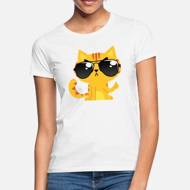Bürohumor NO. Cat - sunglasses cool cat no fun - Women's T-Shirt