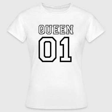 PARTNERSHIRT - QUEEN 01 - Dame-T-shirt