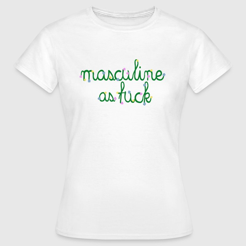 TOTAL MALE - T-shirt Femme