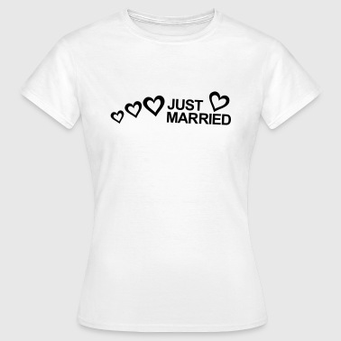 MARRIAGE, MARRIED, MARRIED, honeymoons, LOVE - T-shirt Femme