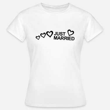 Registry Office MARRIAGE, MARRIED, MARRIED, honeymoons, LOVE - Women's T-Shirt