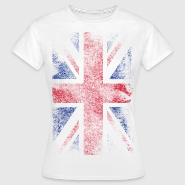 union jack - used look - Camiseta mujer