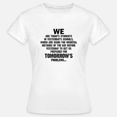 Funny 50th Birthday Teacher Sayings, Gift eg Birthday Nerd School - Women's T-Shirt