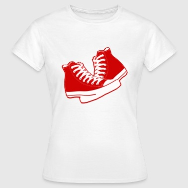 chaussures old school - T-shirt Femme