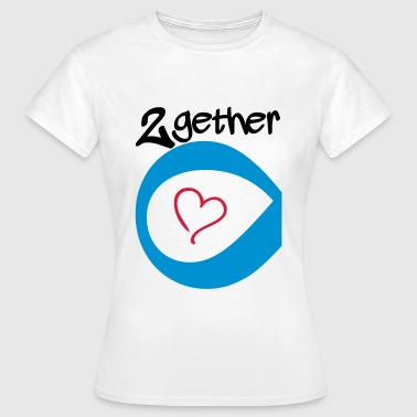 Couple Together forever Infinity - Frauen T-Shirt