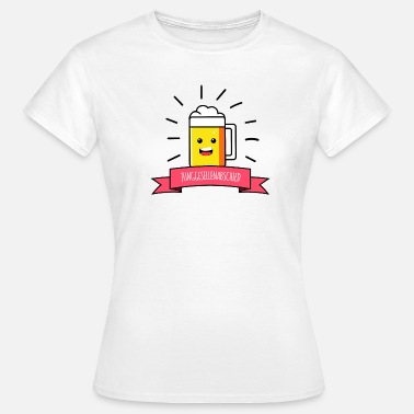 Bachelor Party Beer JGA Party Happy Smilie - Women's T-Shirt