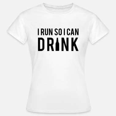 Beer Running Beer - Women's T-Shirt