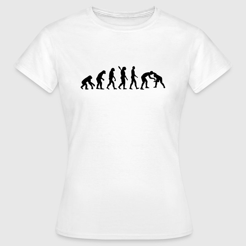 Evolution Ringen - Frauen T-Shirt