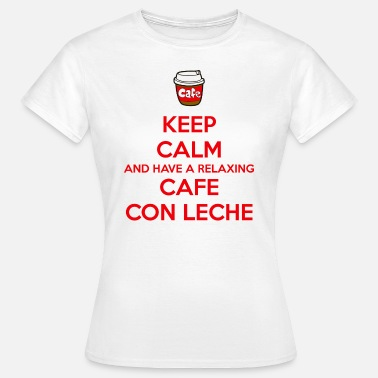 Lech Relaxing cafe con leche - Women's T-Shirt