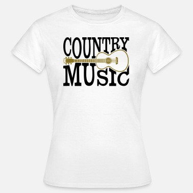 Musique Country musique country - T-shirt Femme