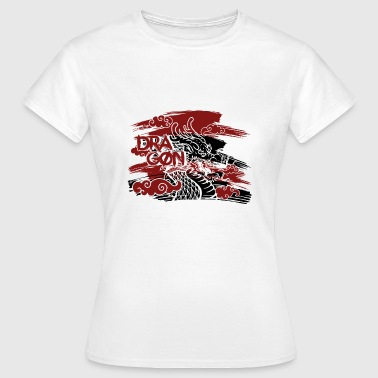 A Knights Tale Dragon fire dragon fairy tale mythical creature knight hero - Women's T-Shirt