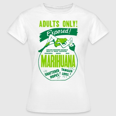 Retro Marijuana Tshirt - Women's T-Shirt