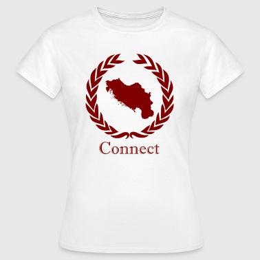 Connect CONNECT COLLECTION LMTD. RED EDITION - Dame-T-shirt