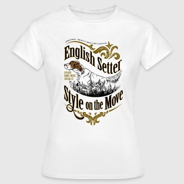 setter_style_on_light - Frauen T-Shirt